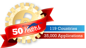 50 Years. 119 Countries. 35,000 Applications