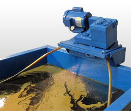 The Model 5-H is a compact oil skimmer specially designed for small or hard to get at places