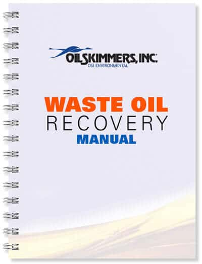 Waste Oil Recovery Manual